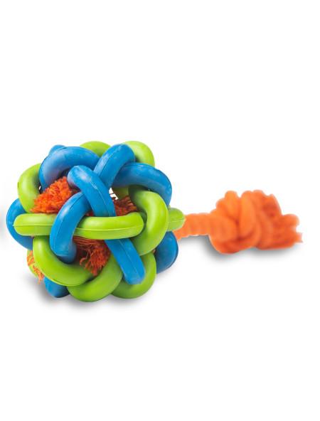 Παιχνίδι για σκύλους μπάλα με σχοινί