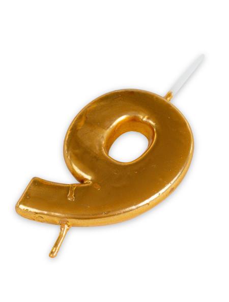 Κεράκι για τούρτα γενεθλίων χρυσό