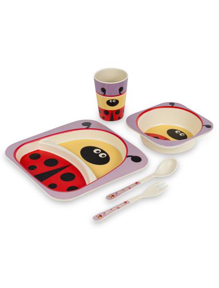 Σετ φαγητού Ladybug παιδικό