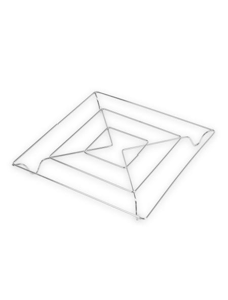 Σουπλά κατσαρόλας ανοξείδωτο τετράγωνο 18x18cm