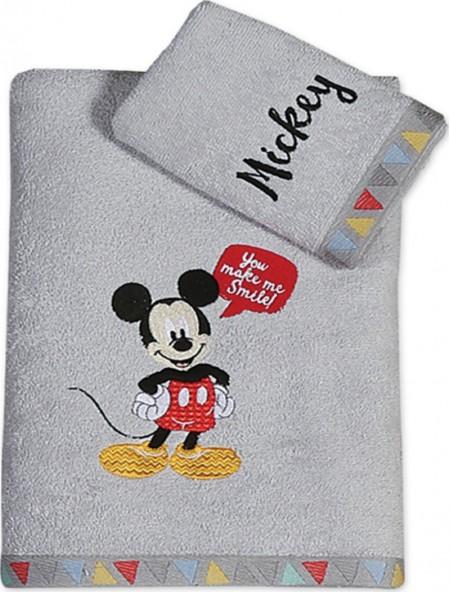 Βρεφικές πετσέτες σετ 2 τεμαχίων Mickey Smile NEF NEF