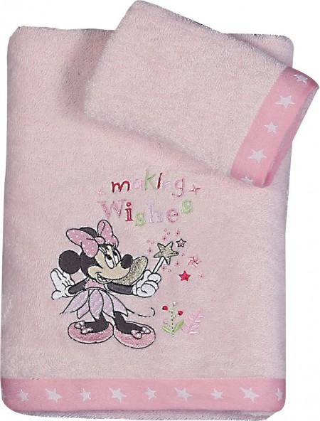 Βρεφικές πετσέτες σετ 2 τεμαχίων Minnie Fairy NEF NEF