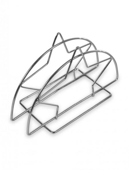 Θήκη μεταλλική για χαρτοπετσέτες με σχέδιο αστέρι