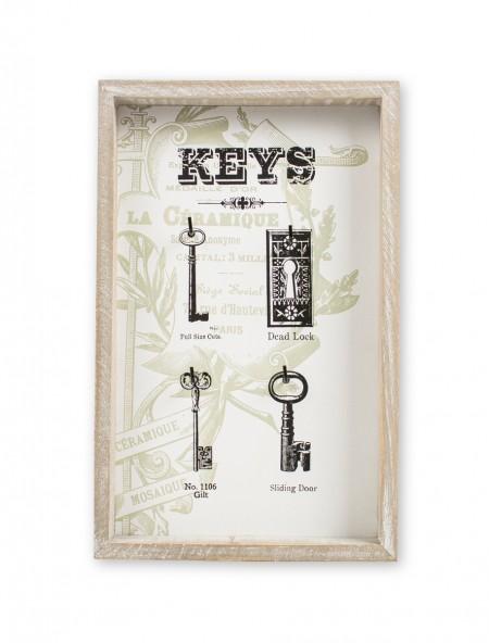 Κλειδοθήκη ξύλινη