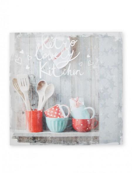 Διακοσμητικό κάδρο-καμβάς Kitchen
