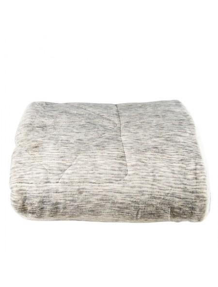 Κουβέρτα διπλή φλάνελ με νερά