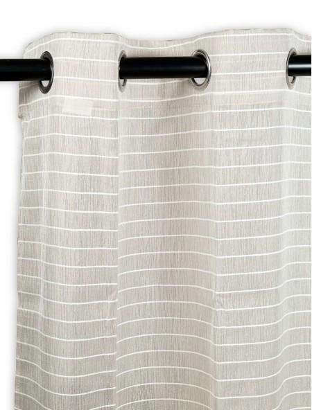 Κουρτίνα δωματίου με γραμμές