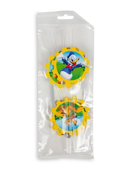 Καλαμάκια Disney Mickey Mouse 6 τεμάχια