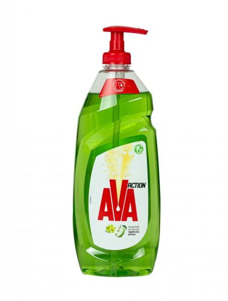 Ava υγρό πιάτων μήλο και ξύδι 650ml