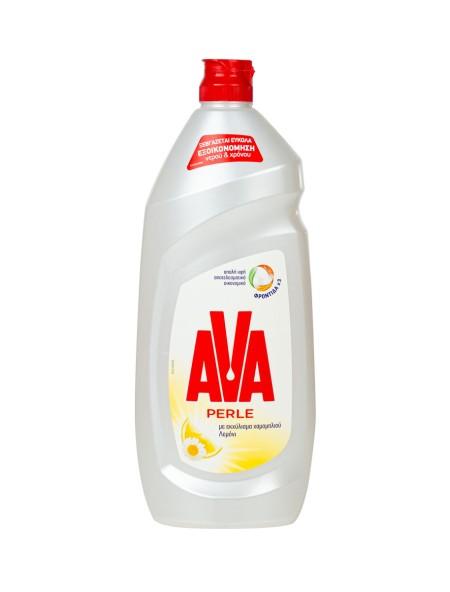 Ava Perle υγρό πιάτων χαμομήλι και λεμόνι 900ml
