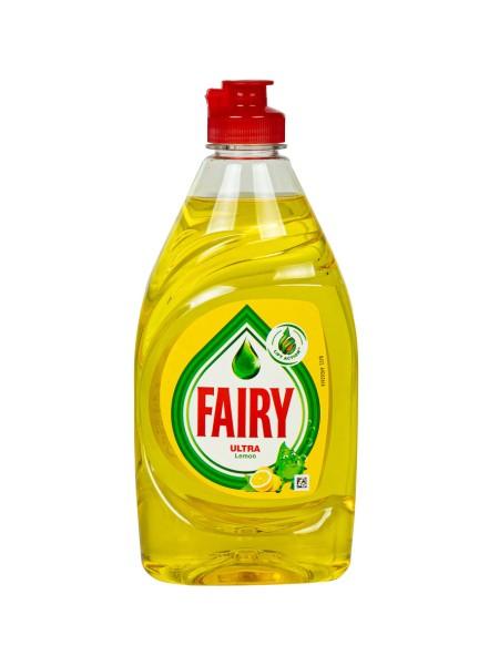 Fairy ultra υγρό πιάτων λεμόνι 400ml