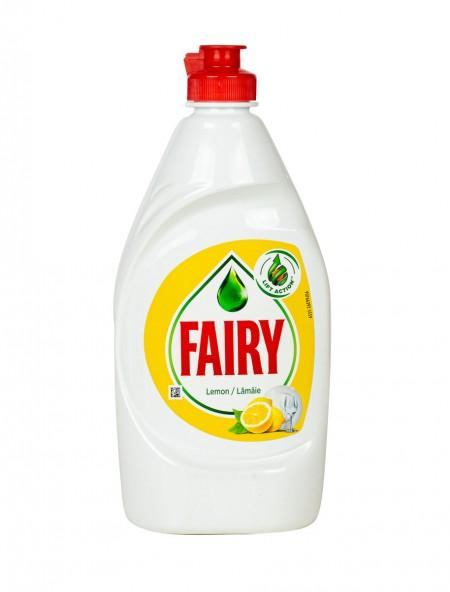 Fairy υγρό πιάτων λεμόνι 400ml