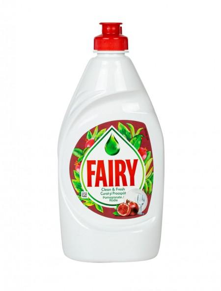 Fairy clean & fresh υγρό πιάτων ρόδι 400ml