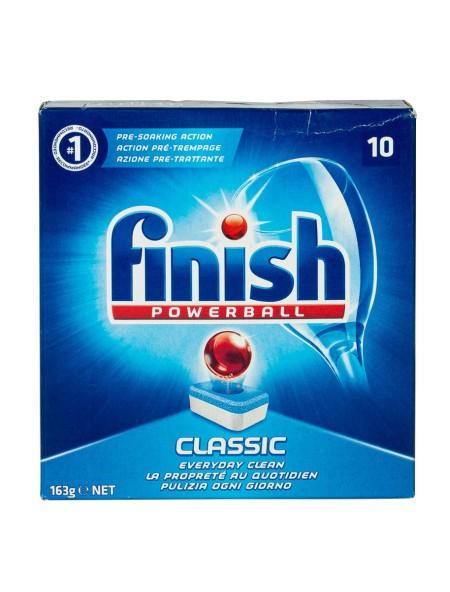 Finish Powerball classic ταμπλέτες πλυντηρίου πιάτων 10 τεμάχια