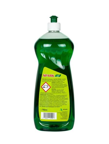 Spark υγρό πιάτων λεμόνι 750ml