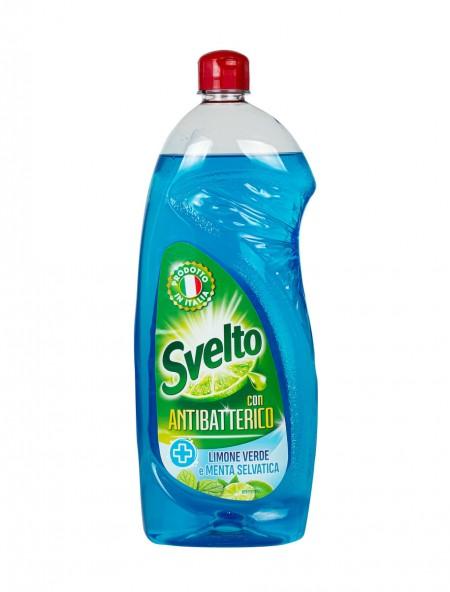 Svelto antibacterial υγρό πιάτων 1L