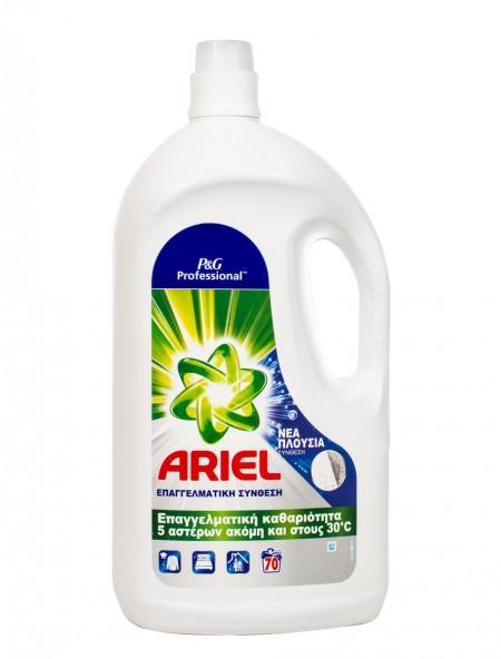 Ariel professional υγρό απορρυπαντικό ρούχων 70 μεζούρες