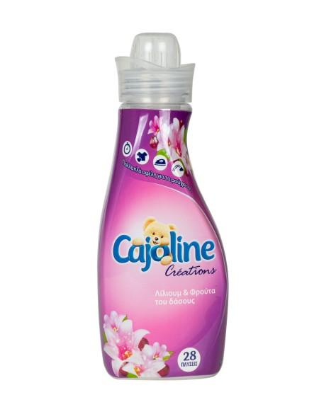 Cajoline creations μαλακτικό λίλιουμ και φρούτα του δάσους 700ml