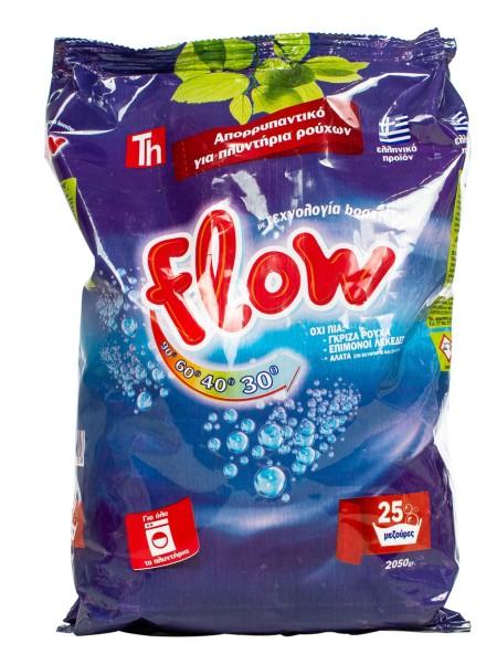 Flow σκόνη ρούχων 2.05kg 25 μεζούρες