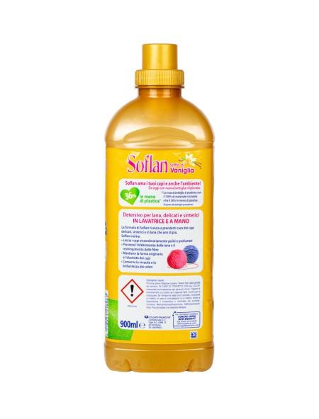 Soflan υγρό απορρυπαντικό ρούχων βανίλια 900ml