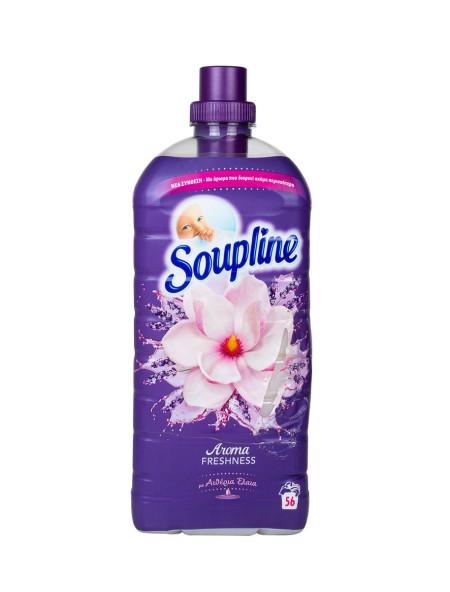 Soupline μαλακτικό αιθέρια έλαια 1.3L 56 μεζούρες