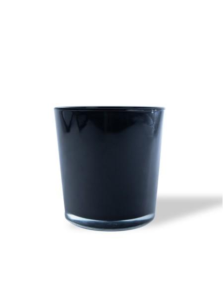 Βάζο γυάλινο μαύρο