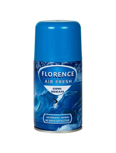 Florence air fresh cool ocean ανταλλακτικό αποσμητικό χώρου 260ml