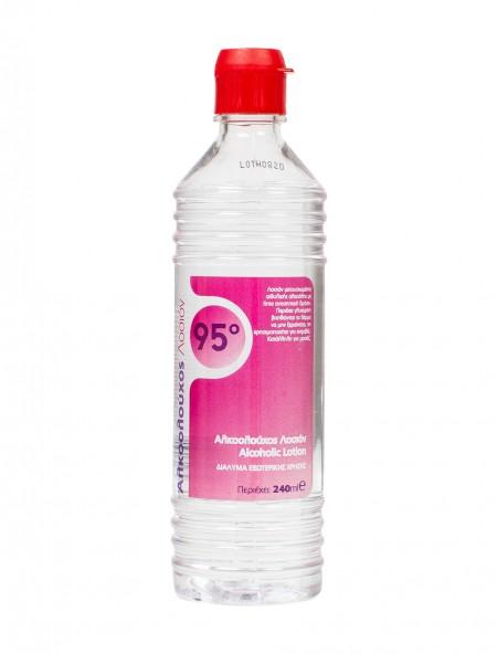 Alfa αλκοολούχος λοσιόν 95ο 240ml