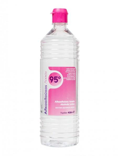 Alfa αλκοολούχος λοσιόν 95ο 420ml