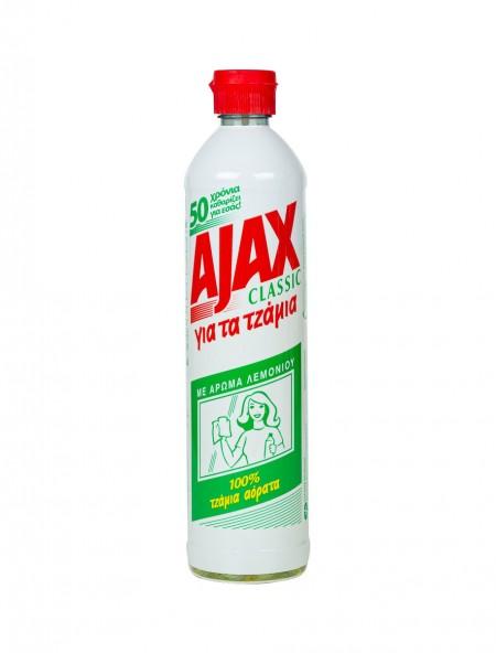 Ajax υγρό τζαμιών λεμόνι 450ml
