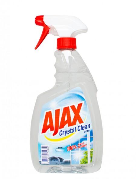 Ajax crystal clean υγρό τζαμιών 750ml
