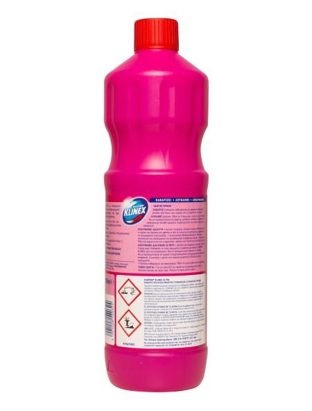 Klinex χλωρίνη παχύρευστη ροζ 1250ml