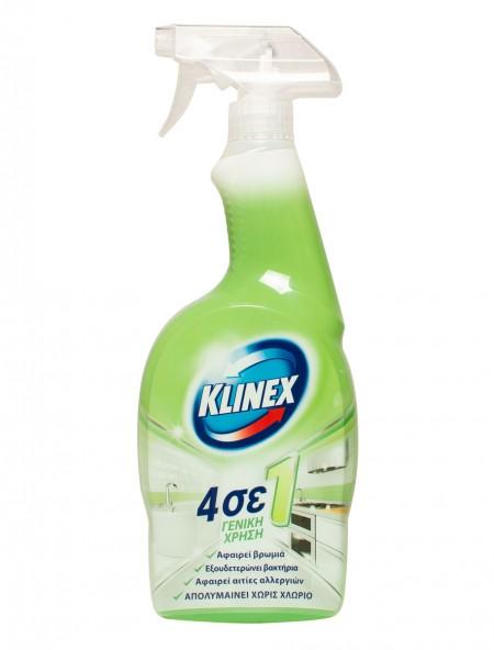 Klinex 4 σε 1 καθαριστικό γενικής χρήσης 750ml