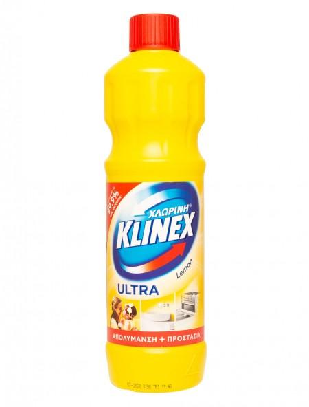 Klinex χλωρίνη παχυρευστη λεμόνι 750ml