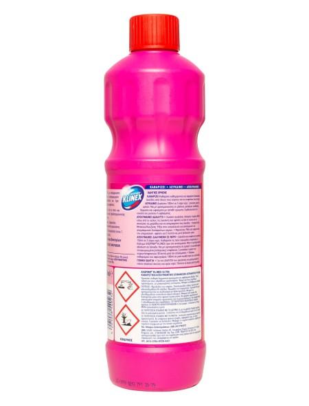 Klinex χλωρίνη παχυρευστη ροζ 750ml