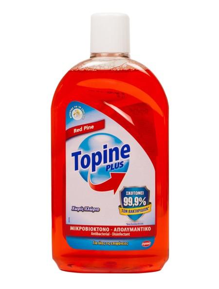 Topline red pine υγρό απολυματνικό για όλες τις χρήσεις 1L