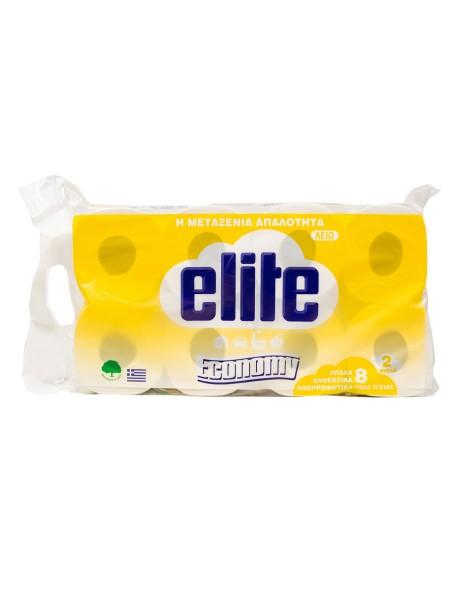 Elite economy ρολό υγείας λείο 8x143gr