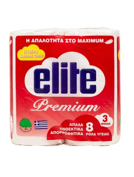 Elite premium ρολό υγείας 8x75gr
