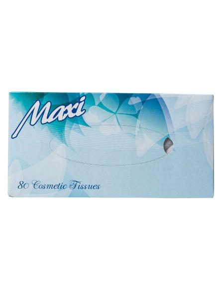 Maxi facial χαρτομάντηλα 80 τεμάχια