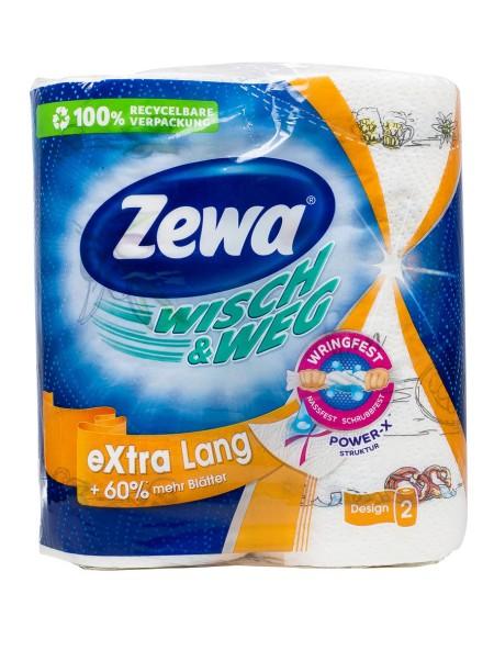 Zewa wisch & weg ρολο κουζίνας 2x188gr