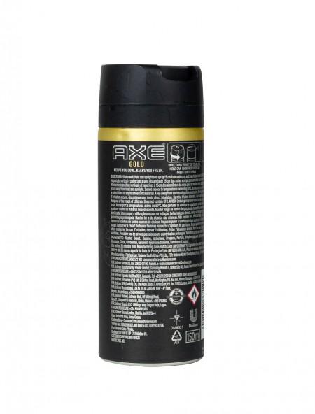 Axe spray gold αποσμητικό 150ml