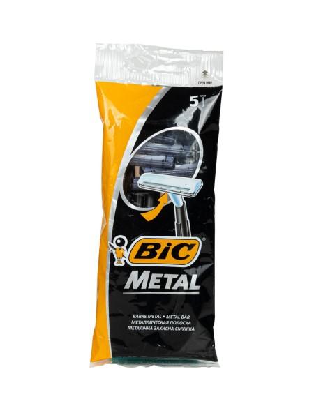 Bic metal ξυραφάκια 5 τεμάχια