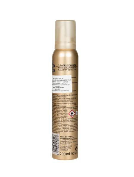 Wellaflex 2 days volume N.4 αφρός μαλλιών 200ml