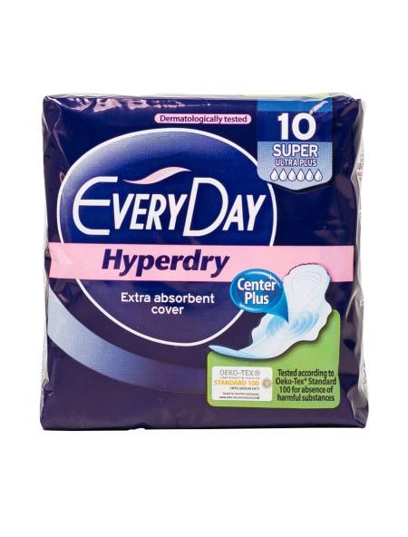 EveryDay hyperdry super ultra plus σερβιέτες 10 τεμάχια