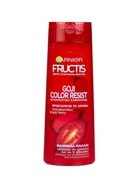 Garnier Fructis coji color resist σαμπουάν προστασίας χρώματος 400ml