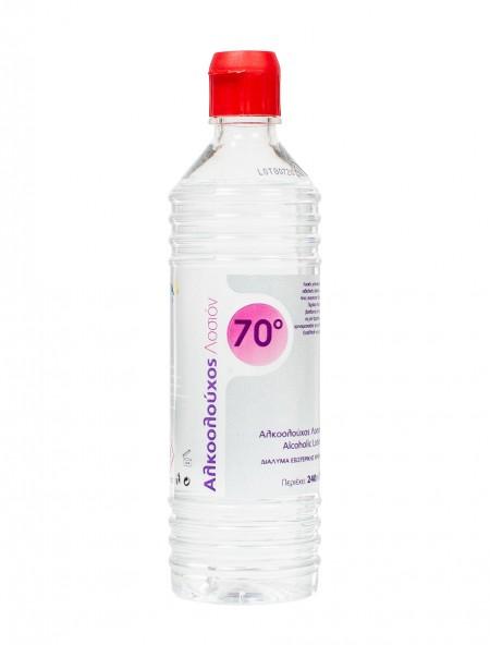 Alfa αλκοολούχος λοσιόν 70ο 240ml