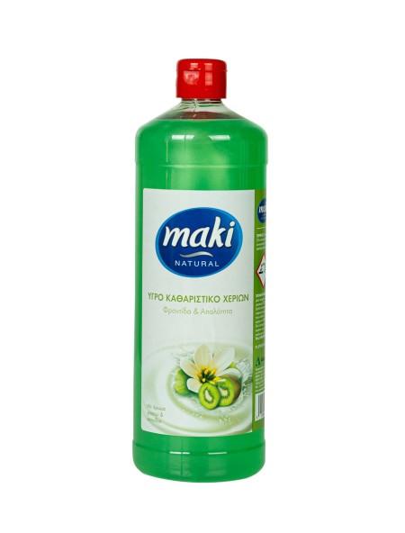 Maki γιασεμί & ακτινίδιο κρεμοσάπουνο 1L