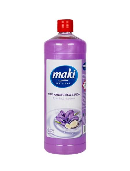 Maki λεβάντα & κουκουνάρι κρεμοσάπουνο 1L