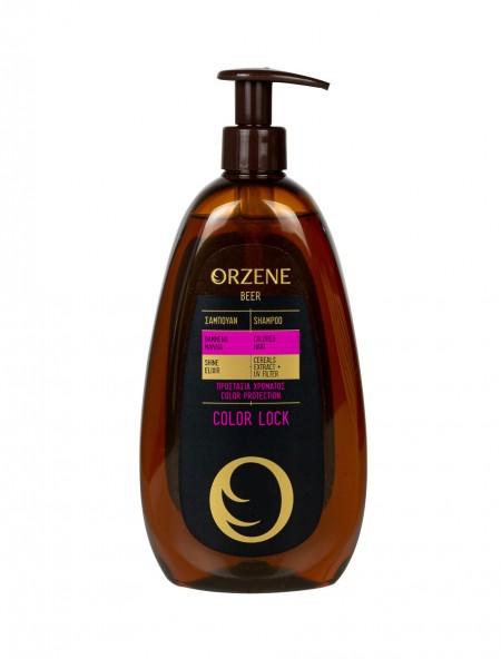 Orzene color lock σαμπουάν για βαμμένα μαλλιά 400ml