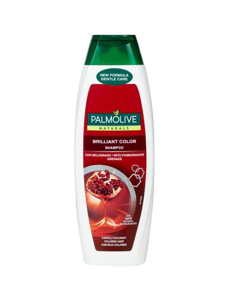 Palmolive brilliant color pomegranate σαμπουάν για βαμμένα μαλλιά 350ml